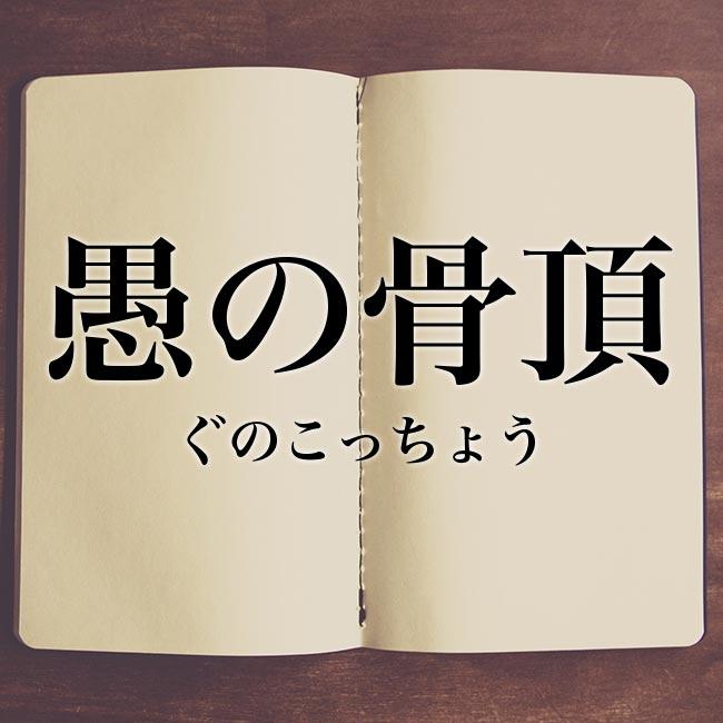 愚の骨頂」とは?意味や言い換え!例文と解釈 | Meaning-Book